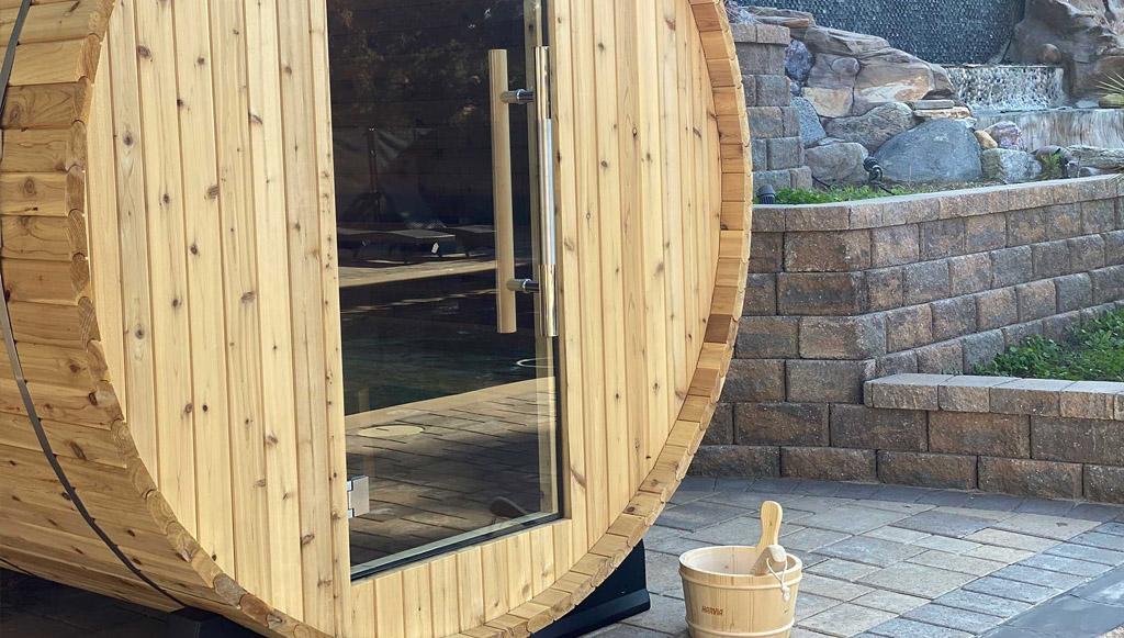 Luxury drug rehab amenities Sauna