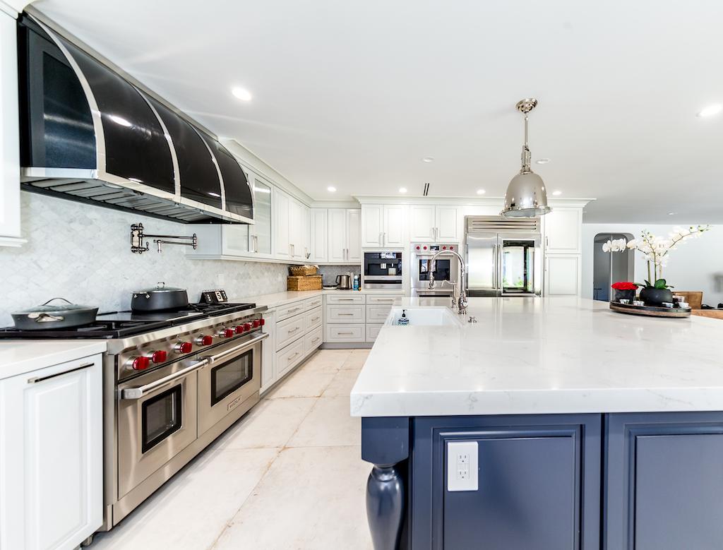 Luxury kitchen at inpatient rehab