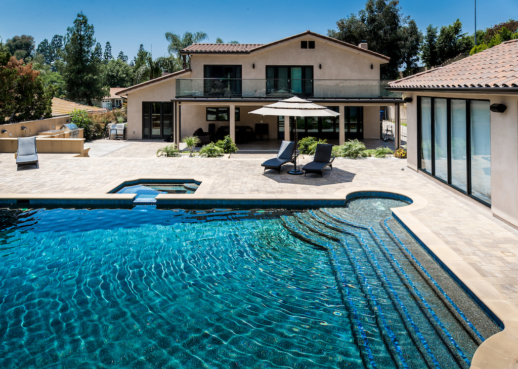 Pool and Summer kitchen