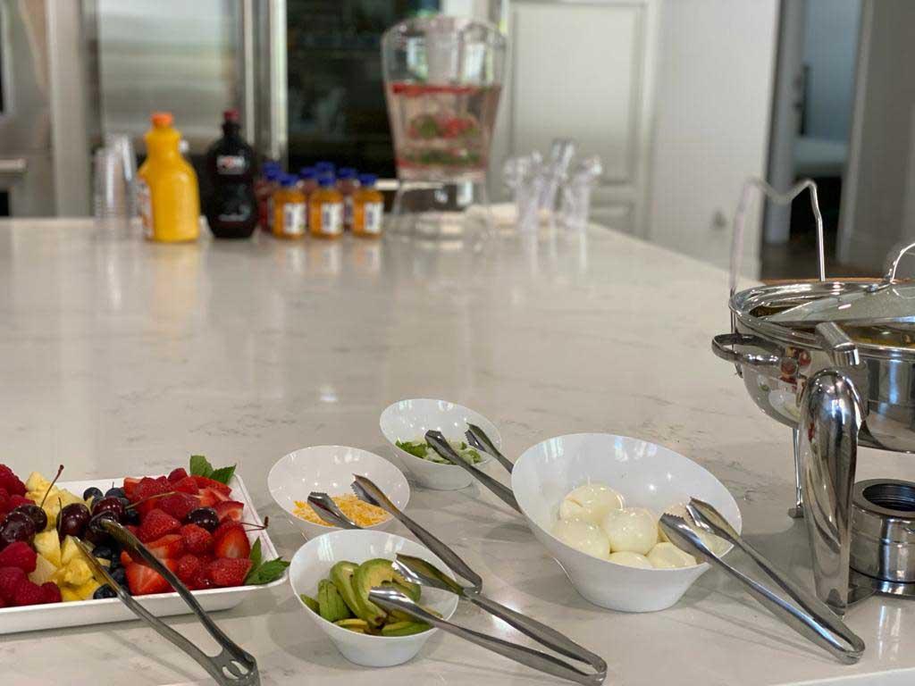 Luxury-rehab-prepared-food
